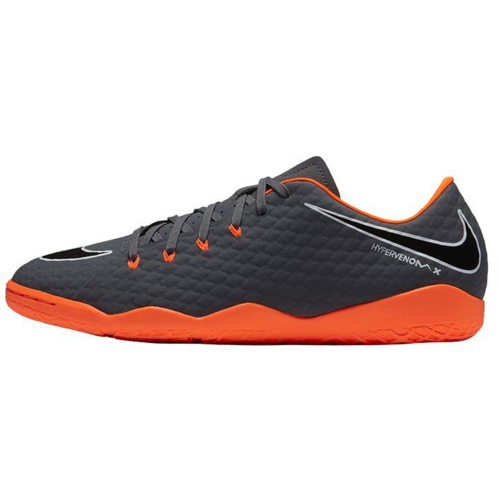 Nike Phantomx 3 Academy IC Fußballschuhe Halle Herren dark grey/total orange-white