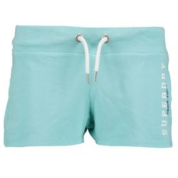 Superdry Track and Field Lite Shorts kurze Shorts Damen city mint
