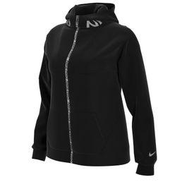 Nike Damen Np Fleece Full Zip Hoodie Sweatjacke Black Jacke