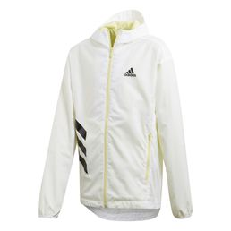 adidas performance XFG Must Haves Windbreaker Outdoorjacke Mädchen White/Yellow Tint/Black