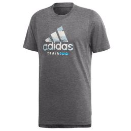 adidas performance B Tee Logo Freizeit T-Shirt Herren black
