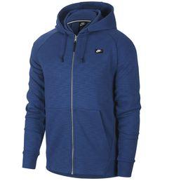 Nike Optic Fleece Sweatjacke Herren coastal blue