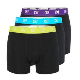 CR7 Cristiano Ronaldo Basic Trunk Underwear Boxershorts black w. mix elastics