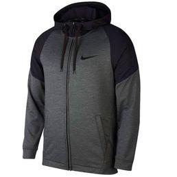 Nike Dri-FIT Sweatjacke mit Kapuze Trainingsjacke Herren black/heather