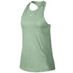 Nike Pro Tranktop Tankshirt Funktionsshirt Damen pistachio frost/white