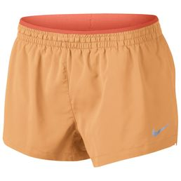 Nike Elevate 3 Shorts Kurze Sporthose Laufshorts Damen fuel orange/turf orange