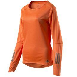adidas performance Response Longsleeve Tee Funktionsshirt langarm Damen orange