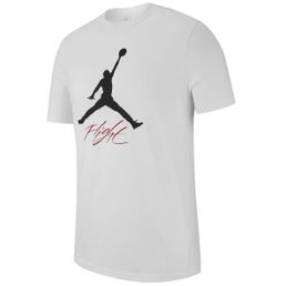 Nike Jumpman Flight Freizeit T-Shirt kurzarm Herren white