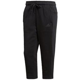 adidas performance ESS SOLID 3/4 Pants Jogginghose 3/4 Länge Damen black
