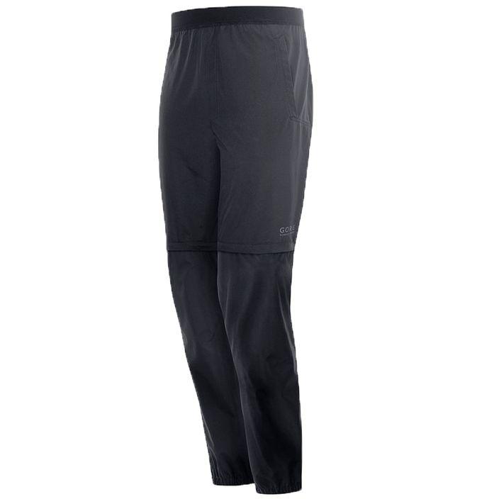 Gore Running Wear Essential Gore Winstopper Zip-Off Hose Laufhose Herren black