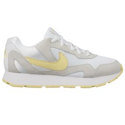 Nike wmns Delfine Freizeitschuhe Sneaker Damen white/bicycle yellow