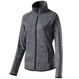 Energetics Funda 4 Sweatjacke Trainingsjacke Damen black/night melange