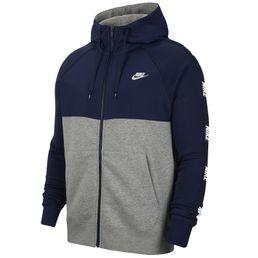 Nike CE Hoodie FZ BB Hybrid Sweatjacke Kapuzenjacke Herren midnight navy/dark grey