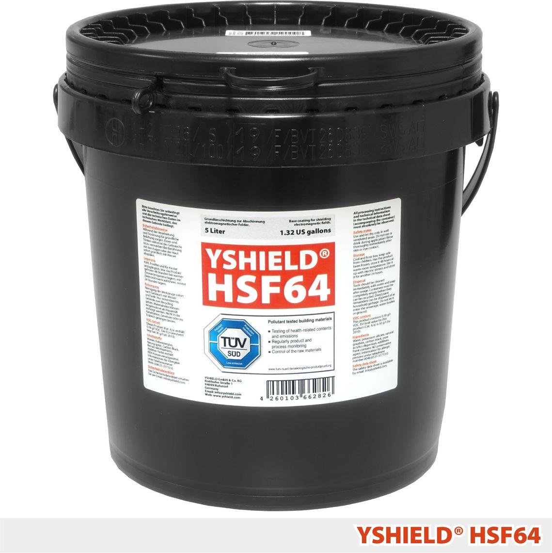 YSHIELD® HSF64 | Standard Abschirmfarbe | 5 Liter