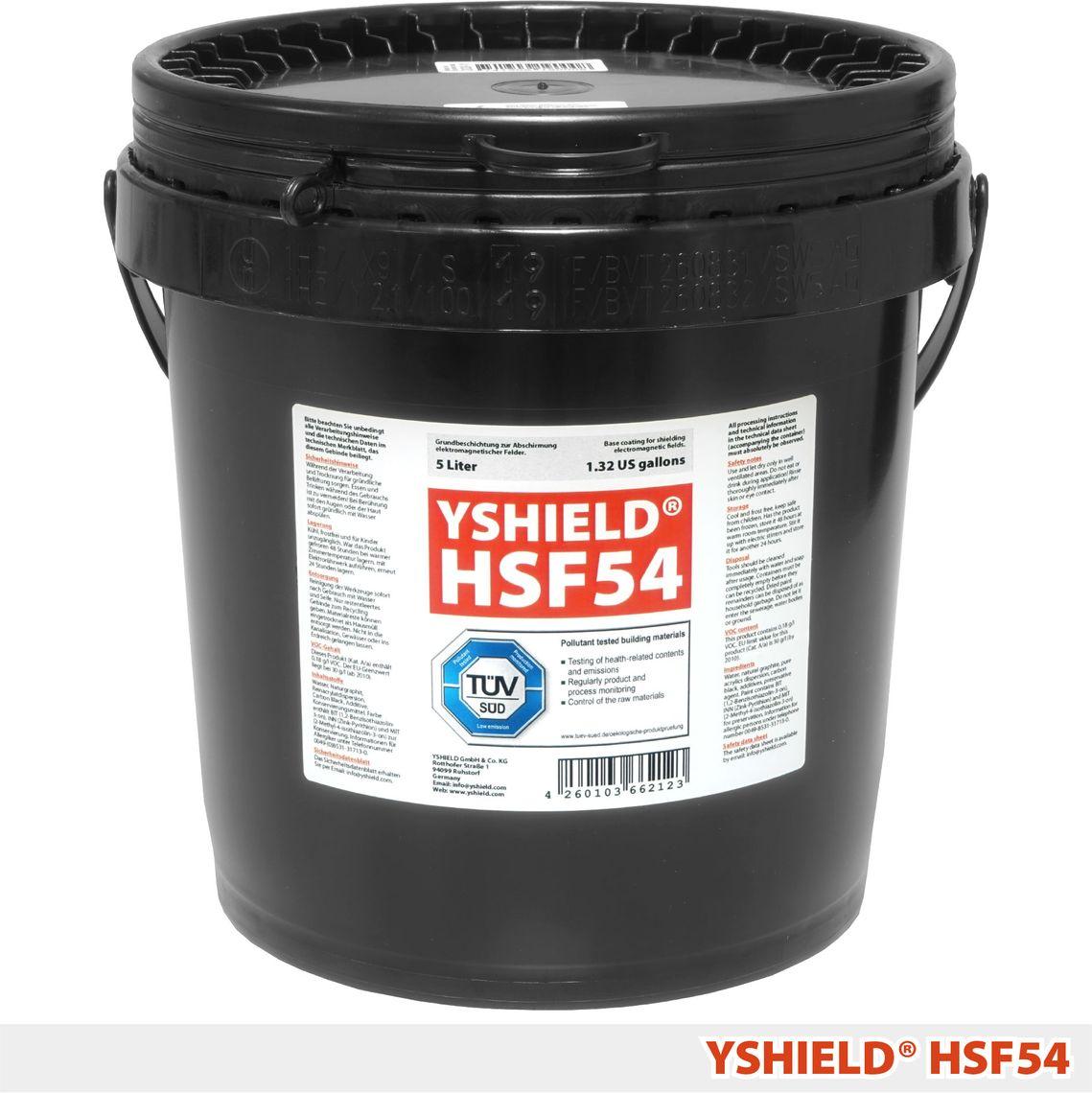 YSHIELD® HSF54 | Standard Abschirmfarbe | 5 Liter