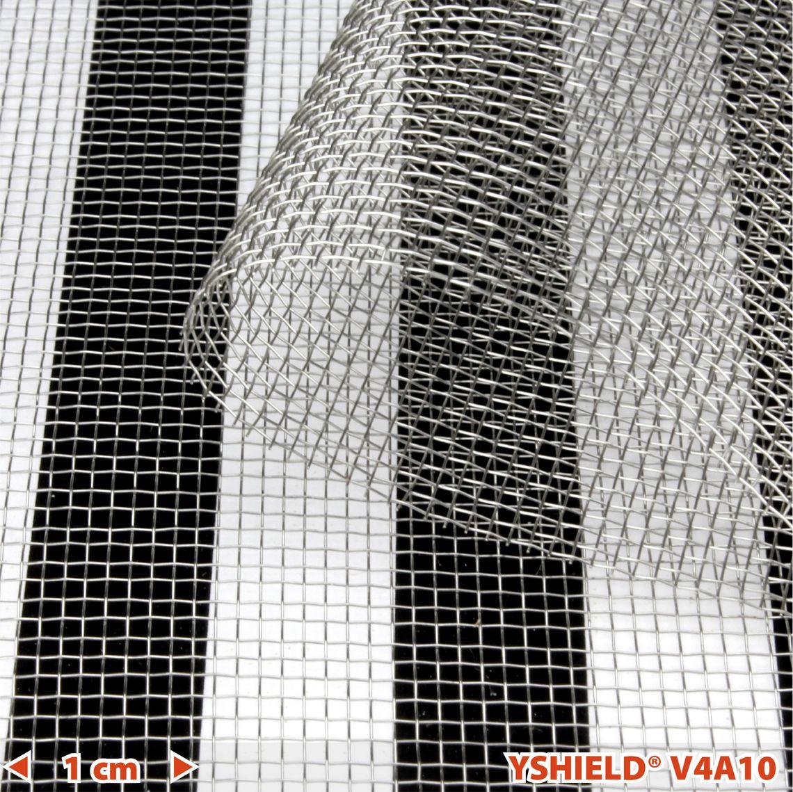 YSHIELD® V4A10 | Edelstahlgewebe | Breite 90 cm | 1 Meter