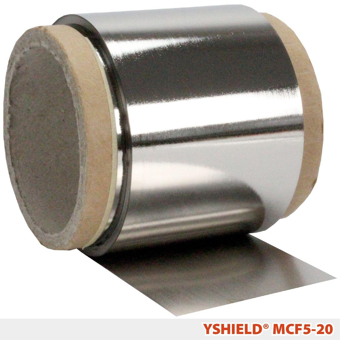 YSHIELD® MCF5   Magnetfeld-Abschirmfolie   Breite 5 cm   20 Meter