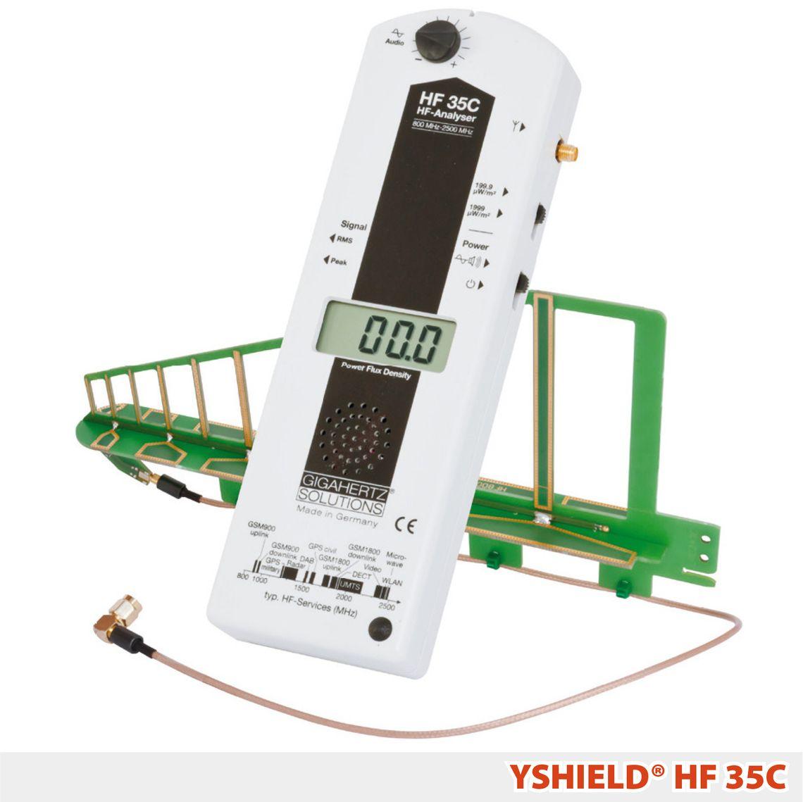 Gigahertz-Solutions HF35C | Messgerät | YSHIELD® Edition