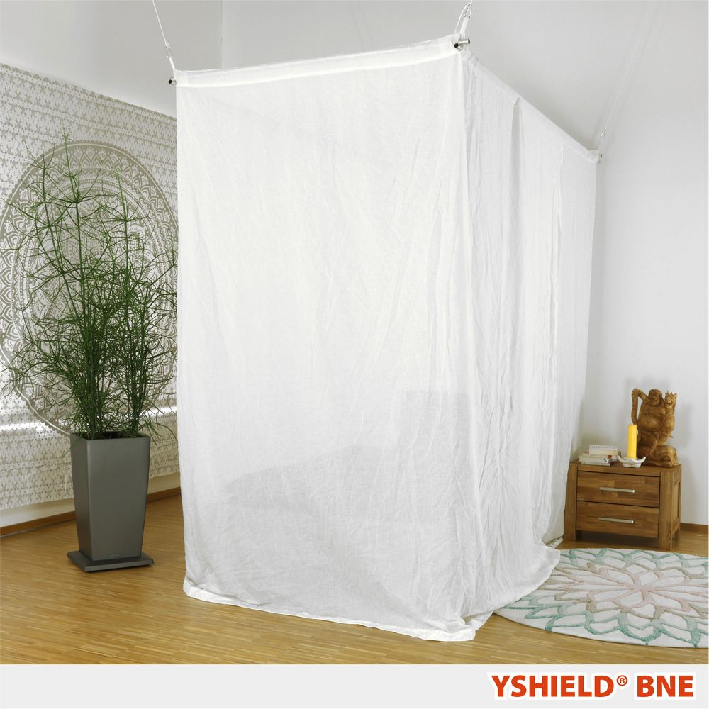 YSHIELD® BNE | Shielding canopy | Single bed | NATURELL