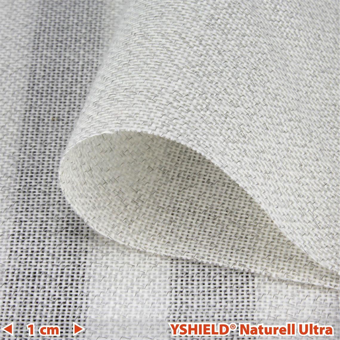 Swiss-Shield® NATURELL-ULTRA™   Abschirmstoff   Breite 250 cm   1 Meter
