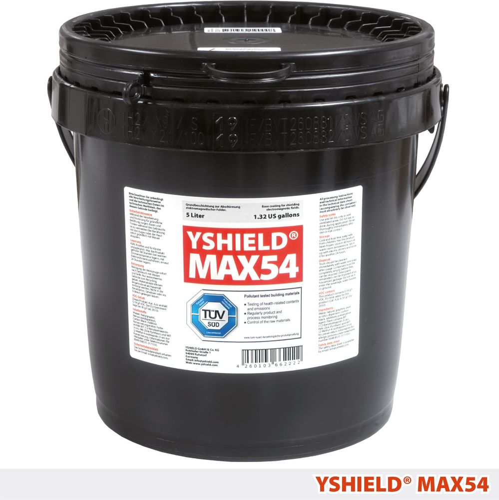 YSHIELD® MAX54   Special shielding paint   5 liter