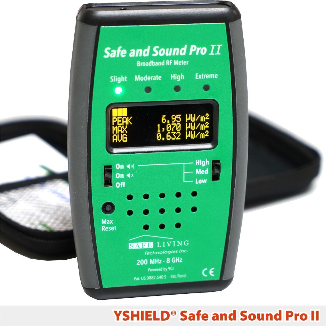 Safe and Sound Pro 2 | Messgerät | YSHIELD® Edition