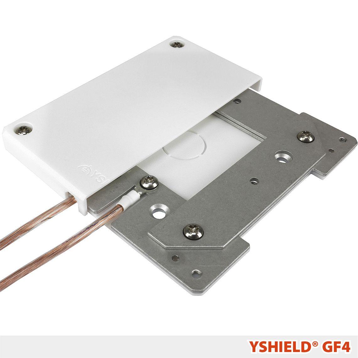 YSHIELD® GF4 | Erdungsgehäuse 120x120 mm