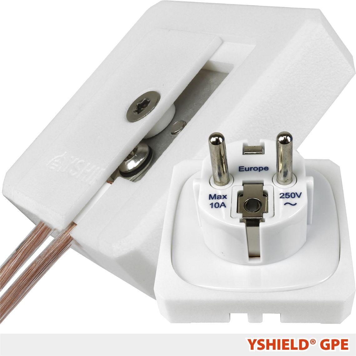 YSHIELD® GPE | Grounding plug EF (CEE 7/7)