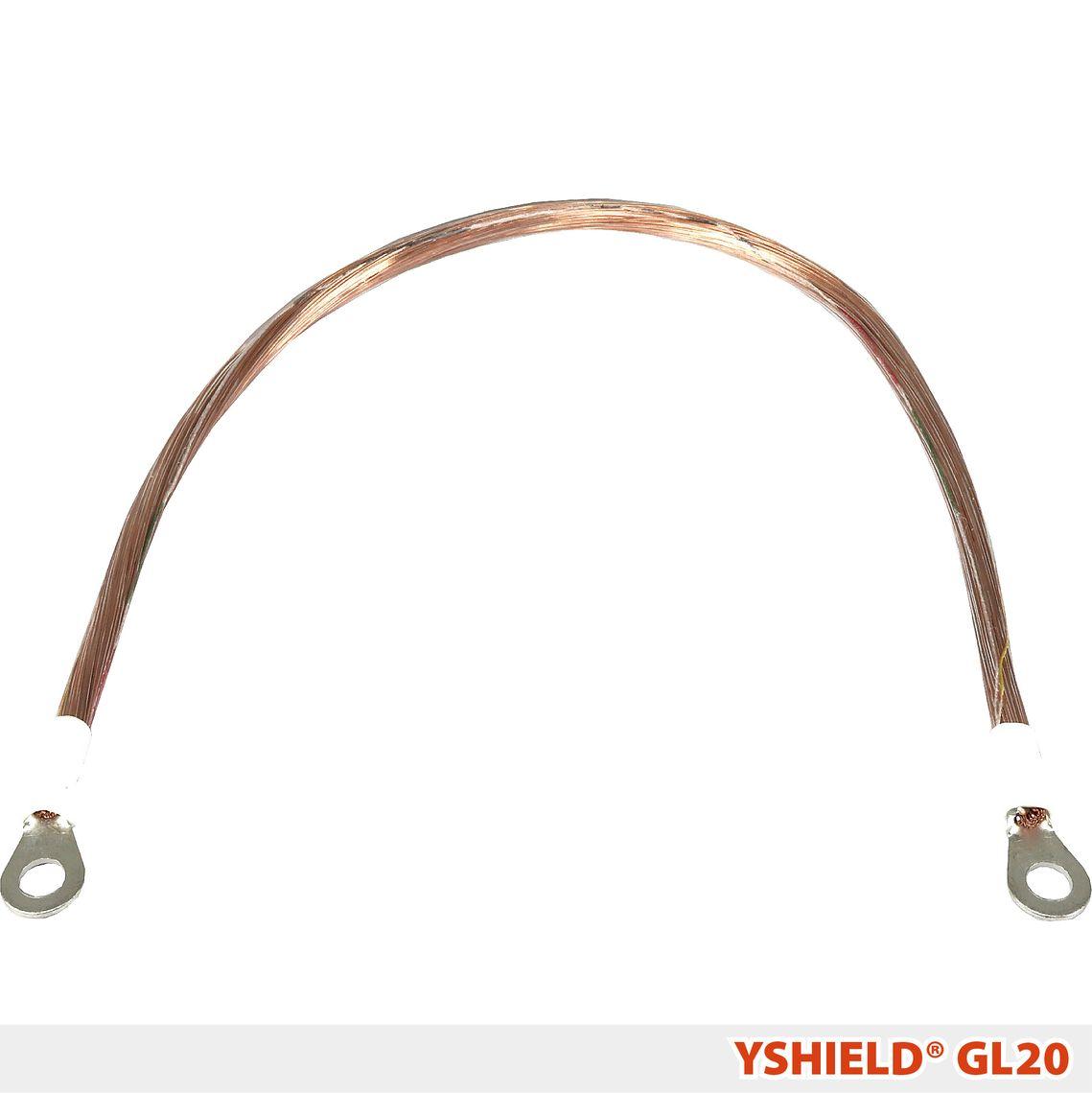 YSHIELD® GL20 | Erdungskabel | 0,2 Meter