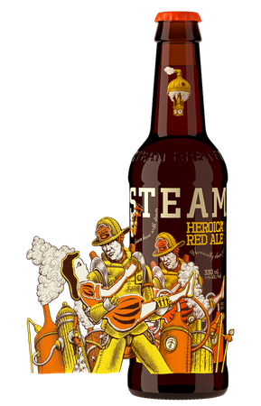 Heroica® Red Ale 12x bottle 330ml