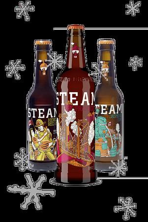 Steamworks Frambozen Paket