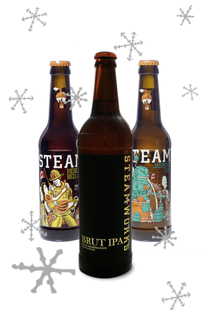 Steamworks Brut IPA Package