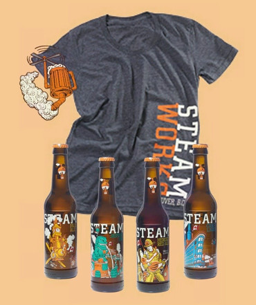 Steamworks Easter Package + 1 T-Shirt for free