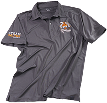 Steamworks Men´s Polo Shirt - Size XL