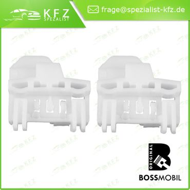Bossmobil Audi A4 (B5), 4/5 doors, front left, window lifter repair kit