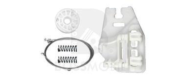 Bossmobil BMW X5 (E53), 4/5 doors, rear right, window lifter repair kit