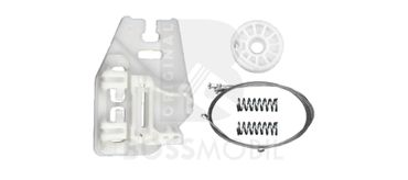 Bossmobil BMW X5 (E53), 4/5 doors, rear left, window lifter repair kit