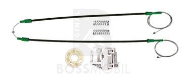 X3 (E83),Hinten Rechts, manuell oder elektrische Fensterheber Reparatursatz