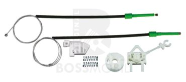 Bossmobil Fiat DOBLO (119), Cargo (223), 4/5 doors, front right, window lifter repair kit