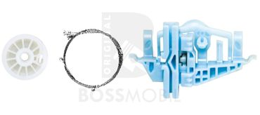 Bossmobil Fiat DOBLO (152, 263),,  2/3 doors or 4/5 doors, rear right, window lifter repair kit