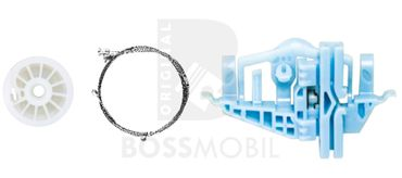 Bossmobil DOBLO (152, 263),, 2/3 ou 4/5 portes,  arrière gauche, kit de réparation du lève vitre