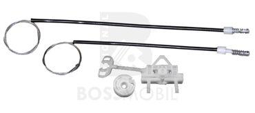 Bossmobil Fiat LINEA (323), 4/5 doors, rear left, window lifter repair kit