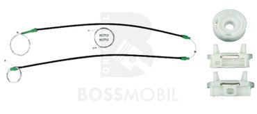 Bossmobil FOCUS (DAW, DBW), Kombi (DNW),  Stufenheck (DFW), 4/5 portes, devant droite, kit de réparation du lève vitre