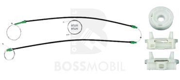 Bossmobil Ford FOCUS (DAW, DBW), Kombi (DNW),  Stufenheck (DFW), 2/3 doors, front right, window lifter repair kit