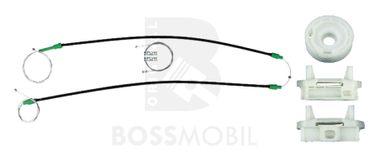 FOCUS (DAW, DBW), Kombi (DNW),  Stufenheck (DFW),Vorne Links, manuell oder elektrische Fensterheber Reparatursatz