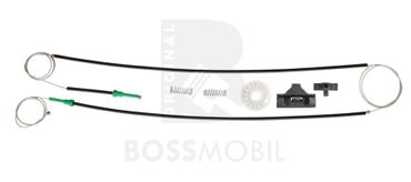 Bossmobil Ford MONDEO III 3(B5Y), Kombi (BWY), Stufenheck (B4Y), 4/5 doors, front right or left, window lifter repair kit