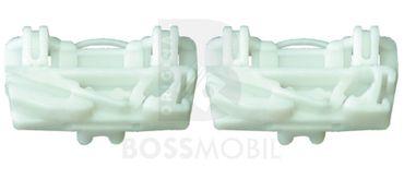 Bossmobil FREELANDER (LN) (Soft Top)(Coupe), 2/3 ou 4/5 portes, devant gauche, kit de réparation du lève vitre