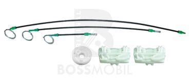 Bossmobil Landrover FREELANDER (LN) (Soft Top), 4/5 doors, front right, window lifter repair kit