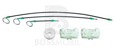 Bossmobil FREELANDER (LN) (Soft Top), 4/5 portes, devant droite, kit de réparation du lève vitre