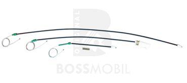 Bossmobil FREELANDER (LN) (Soft Top), 4/5 portes, hayon, kit de réparation du lève vitre